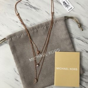 NWT Micheal Kors Brilliance Necklace